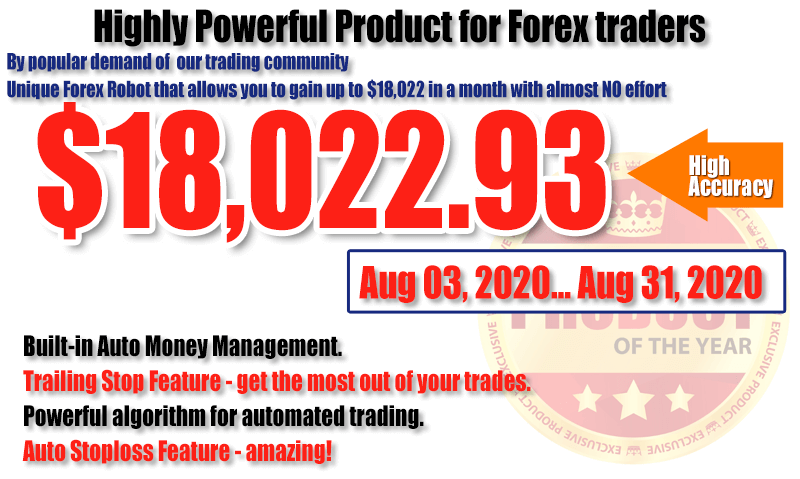 Forex Progress Bot: MAIN Page